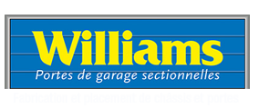 Williams - Portes de garage sectionnelles