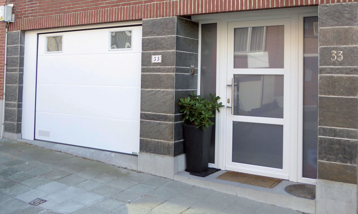 portes williams fabricant porte de garage sectionnelle
