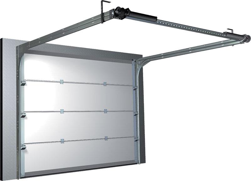 Porte sectionnelle syst me 70 portes williams for Systeme verrouillage porte garage