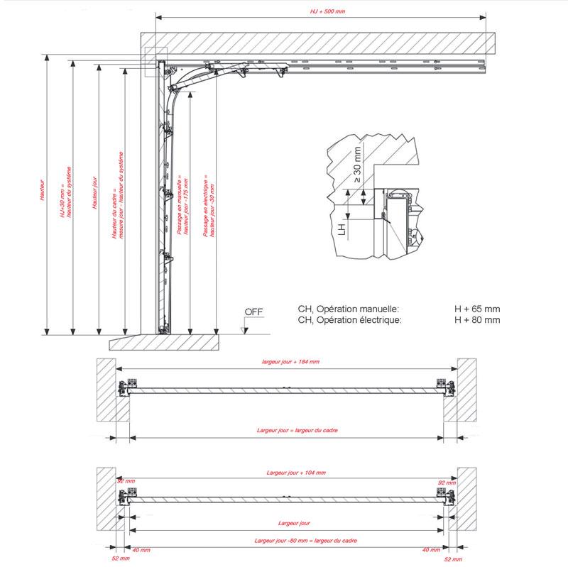 portes de garage avec ressort extension. Black Bedroom Furniture Sets. Home Design Ideas