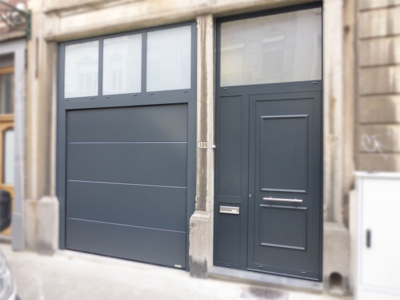 Portes williams fabricant porte de garage sectionnelle for Porte de garage luxembourg prix